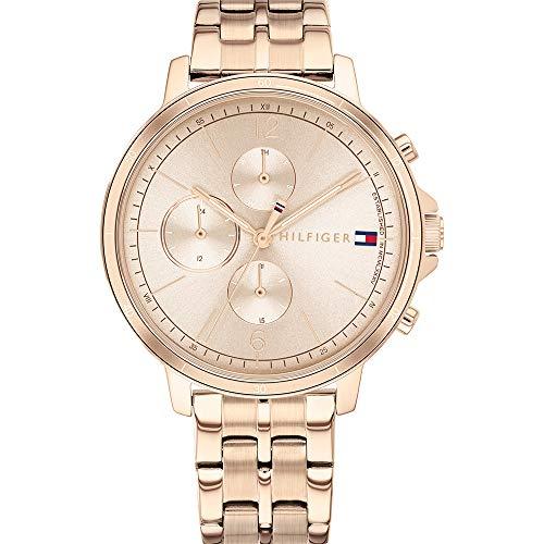 Tommy Hilfiger Reloj de Cuarzo para Mujer con Esfera múltiple Madison
