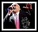 ES Phil Collins Signiert und gerahmt Foto