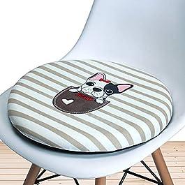 Coussin de siège rond en mousse à mémoire de forme,coussins de siège extérieurs intérieurs en rotin doux tapis de…
