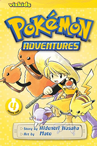 POKEMON ADVENTURES GN VOL 04 RED BLUE