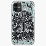 Fallout Robot Armored Art Armor Cosplay T51 Helmet Power Fan 4   Unique Design Snap Phone Case Cover for iPhone 11 TPU Protective