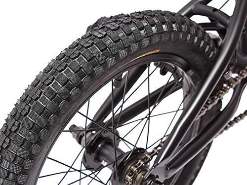 KHE BMX Fahrrad Barcode CS 16 Zoll schwarz nur 10,0kg! - 5
