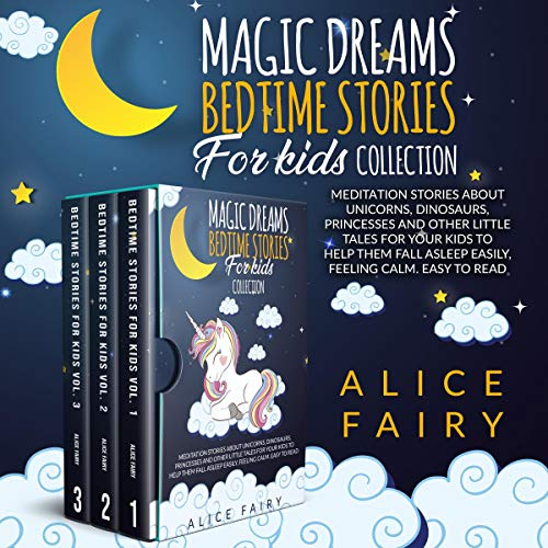Magic Dreams Bedtime Stories for Kids Collection cover art