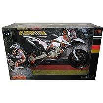 KTM 350 EXC-F Dirt Bike 6 Days Germany Saxony Motorcycle Model 1/12 by Automaxx 603401 by Automaxx [並行輸入品]