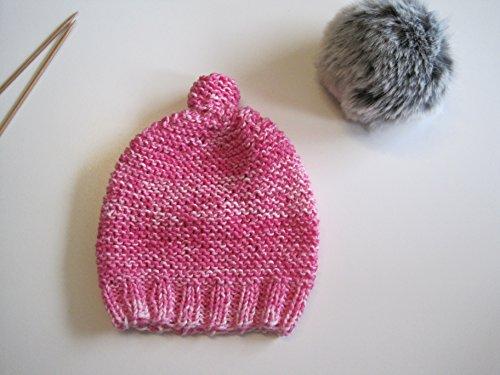 Strickanleitung Mütze von Baby bis Erwachsene- alle Größen in einer Anleitung: Ideal auch für Anfänger