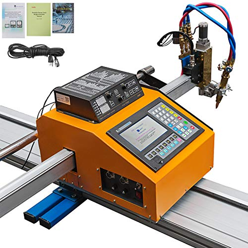 "Mophorn CNC Plasma Cutter 63"" x 118"" Effective Cutting, Portable CNC Machine 110V, Professional Plasma Cutting Machine, Flame Cutting Machine for Oxyfuel and Plasma Cutting"