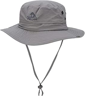 FX Outdoor Sun Hat Female Summer Sun Hat Sun Hat Breathable Sports Hat Big Hat Side Fisherman Hat Travel Hat Male (Color : Gray)
