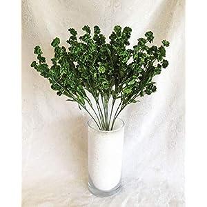 Hunter Green 12 Baby's Breath Gypsophila Silk Wedding Flowers Centerpieces #AFFTM