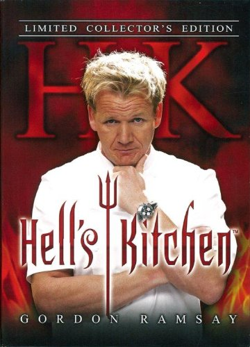 Gordon Ramsay    Hell s Kitchen Season 1 to 4 Raw & Uncensored (Slip Case)