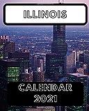 Illinois Calendar 2021