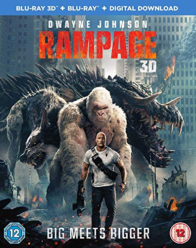 RAMPAGE (3D/S) [Blu-ray] [2018]