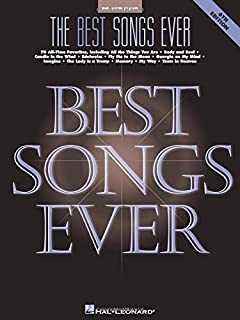 The Best Songs Ever (Big-Note Piano)