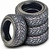 Set of 4 (FOUR) Mazzini Mud Contender Mud Radial Tires-35X12.50R20LT 121Q LRE 10-Ply