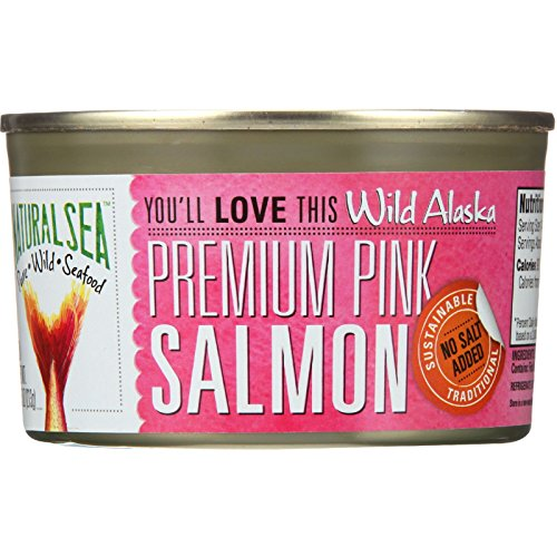 Natural Sea Salmon Pink Prem Ak, 7.5 oz