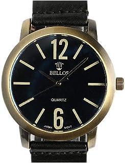 Reloj Pulsera Cuero Negro playskin–Mujer