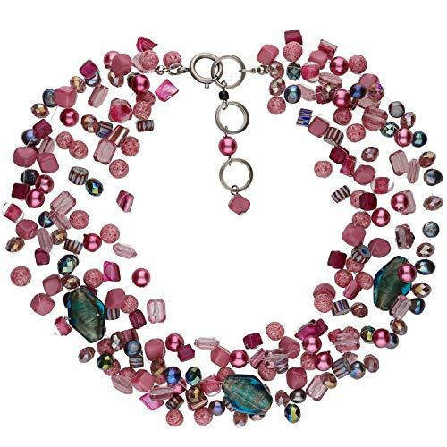 langani Kette Rosa Damen-Halskette Handmade Since 1952