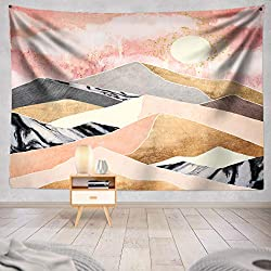 Pink and Yellow Summer Tapestry