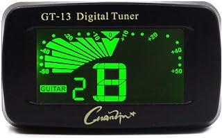 Clip Digital Afinador Para Ukelele Bajo Violin Cromatica 4 Y 6 Cuerda De Guitara