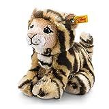 Steiff 84102 Billy Jungtiger 20 sitzend Tiger, GETIGERT