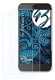 Bruni Schutzfolie kompatibel mit ZTE Blade V7 Folie, glasklare Bildschirmschutzfolie (2X)