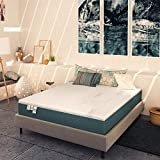 Baldiflex Materasso Una Piazza e Mezza Memory Plus Top Fresh 120x190 cm Alto 25 cm, Fodera Sfod. Estate Cooler, Inverno Aloe Cus. Sap. incl.