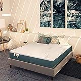 Baldiflex , Materasso Singolo Memory Plus Top Fresh 80x190 cm Alto 25 cm, Fodera Sfod. Estate Cooler, Inverno Aloe Cus. Sap. incl.