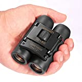 Aurosports 30x60 Compact Folding Binoculars Telescope For Adults Kids Bird Watching with Low Light Night Vision for Outdoor Birding, Travelling, Sightseeing, Hunting, etc