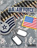 US AIR FORCE CALENDAR 2022'3: monthly calendar 2022 size 8.5x11 inch with high quality images glossy gift for fans .