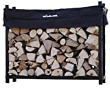 The Woodhaven 8 Foot Firewood Log Rack with Cover...