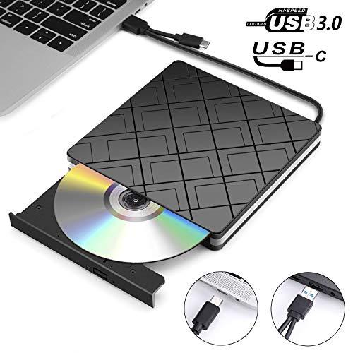 professionnel comparateur Lecteur CD / DVD externe, lecteur MOSUO externe pour l'écriture de CD / DVD / -RW / ROM avec interface USB3.0 et… choix