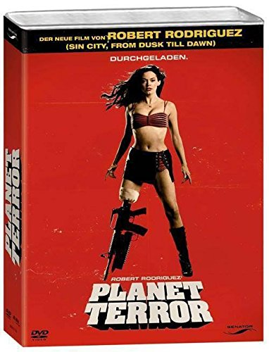 Canister BOX - Planet Terror - Limited Collectors Edition i en bensinkanister - 2 DVD