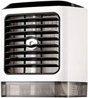 Sunywear 7.7 x 6.3 x 5.5inch USB Interface Button Control Desktop Air Cooler Home Office Mini Fan Personal Fans