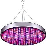 GUOYULIN Panel Lámpara de Planta LED, UFO 50w Lámpara de Crecimiento, Espectro Completo, 250 Led, Lámpara de Cultivo para Plantas de Interior, Hidropónico, Plántula, Vegetales Y Flores
