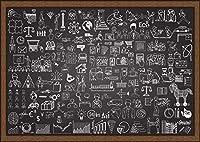 500ピースジグソーパズル代替グラフィティ木製子供のための大人、知的教育減圧ゲームのおもちゃ