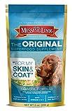 The Missing Link - Original All Natural Superfood Dog Supplement- Balanced Omega 3 & 6 to Support Healthy Skin & Coat – Skin & Coat Formula – 8oz