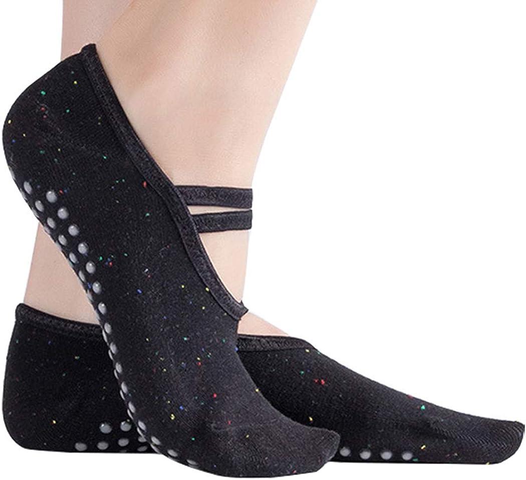 Marchuusu Socks for Small Feet Yoga Pilates Dance Fitness Anti-Slip Non Slip Grip Cotton for Kids Women Girls Size S for UK 1-4