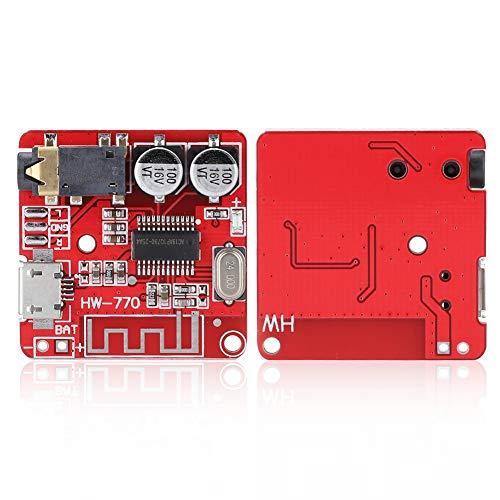 Weikeya Estándar Tarjeta Madre Poder Amplificador Tablero, Externo 3.7v-5v con Abdominales Universal Micro USB 5v Conexión Función