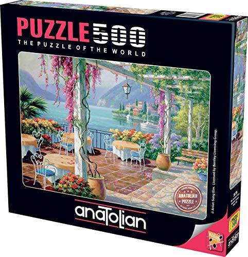 Anatolian Wisteria Terrace Jigsaw Puzzle (500 Piece)