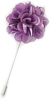 Gentleman's Essentials Premium Handmade Flower Lapel Pin Boutonniere