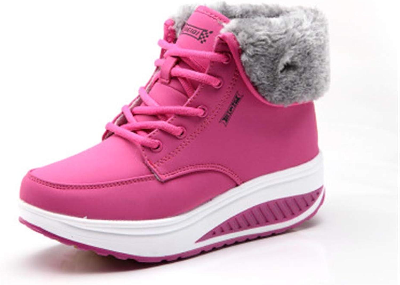 Cloudless Women Winter Warm Cotton Snow Ankle Boots Flat Platform Sneaker shoes
