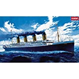 Academy 14215 The White Star Liner Titanic, 1/400 Scale Plastic Model Kit