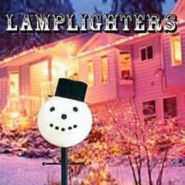Snowman Head Christmas Outdoor Light Lightpost Lamppost Cover