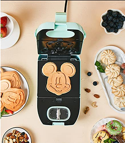 Sandwichera Y Waflera,Sandwichera Eléctrica Para El Hogarmáquina Automática De Desayuno De Sándwiches, Máquina Para Hacer Gofres Mickey Bakeware