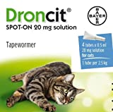 Bayer Droncit Vermifuge pour chat 4 x 0,5 ml