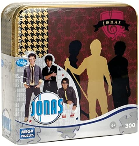 300 pieces Jonas Brothers Puzzle In Tin