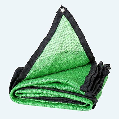 QIANGDA Ombrage 3 Broches 65% De Taux D'ombrage Filet De Parasol D'été Isolation Thermique Polyéthylène Anti-UV Belvédère Couverture De Pergola, Vert, Multi-Taille Optionnel (Taille : 5 x 8m)
