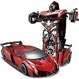 Rotation Stunt Driften Fahrzeug Spielzeug for Kinder 2,4 GHz verformter Fernsteuerungsauto-...