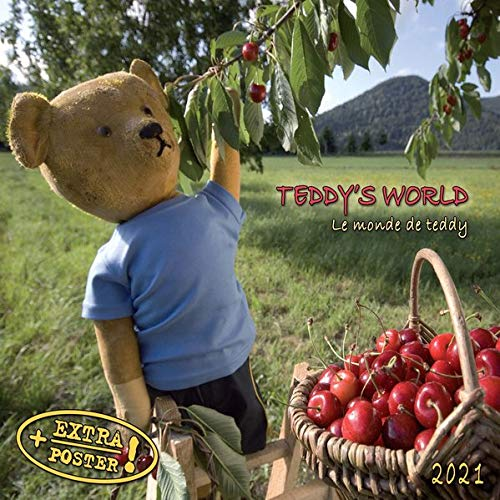 Teddy's World 2021: Kalender 2021 (Artwork Edition)