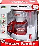 Luna Kinder Kaffeemaschine Happy Family Küchengerät mit Funktionen +3J