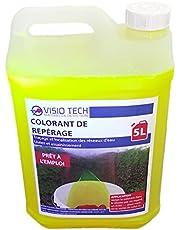 VISIO TECH: fluoresceína, 5 litros, colorante de detección listo para usar
